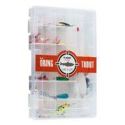 Box med beten och tillbehör - Öring/Regnbåge